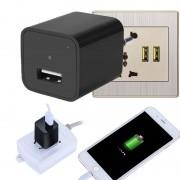 Mini Caméra Espion Chargeur USB - Chargeur Murale avec Détection de Mouvement