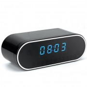 Radio Réveil Caméra Espion WIFI 720P WEBCAM