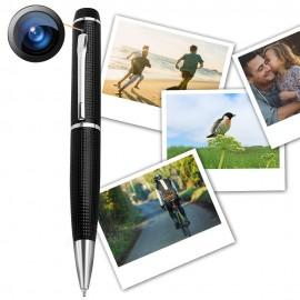 Stylo Caméra Vidéos Voix HD Avec Batterie Améliorée