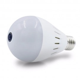Ampoule Caméra Espion WIFI HD avec Détection de Mouvements