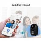 Caméra IP WIFI - Suivi Automatique - Sauvegarde à Distance - Vision Nocturne