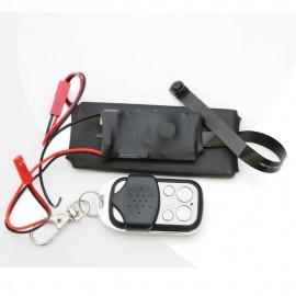 Mini Caméra HD avec Télécommande, Détection de Mouvement et Batterie Externe