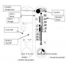 Thermomètre avec Caméra et Détection de Mouvements