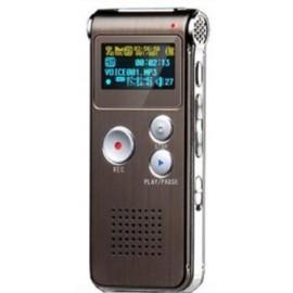 Lecteur MP3 - Dictaphone avec Mémoire Interne de 8 GB
