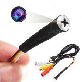 Mini Caméra Espion Full HD en Forme de Vis - Micro Intégré