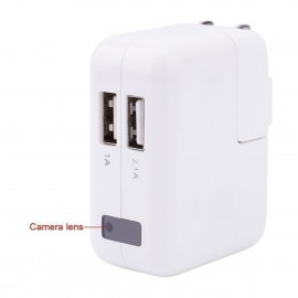 Chargeur mural USB – mini caméra espion 1080P