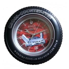 Horloge Murale Espion en Forme de Roue avec Caméra Cachée - 4GB