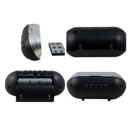 Réveil Caméra Espion HD avec vision nocturne et caméra de 5 MP