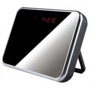 Réveil Miroir Espion Multifonctions avec Caméra Cachée HD