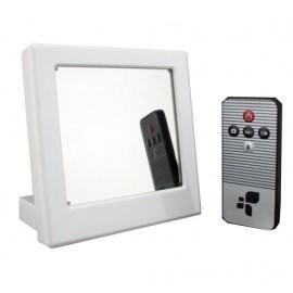 Réveil Miroir Espion avec Caméra Cachée