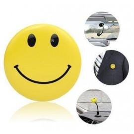 Broche Smiley avec Caméra Espion intégré