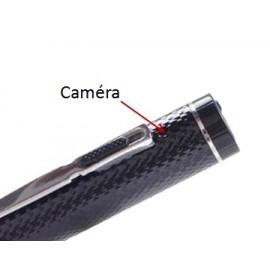 Stylo Espion avec Caméra Cachée HD de 5MP et Détection de Mouvements