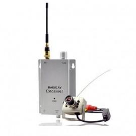 Mini Caméra Espion Émetteur Transmetteur Sans Fil