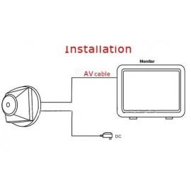 Mini Caméra Espion de Surveillance avec Vision de Nuit