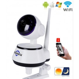 Caméra de Sécurité Espion Sans Fil WIFI avec Vision de Nuit