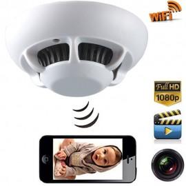 Caméra Cachée Détecteur de Fumée Caméra Wifi