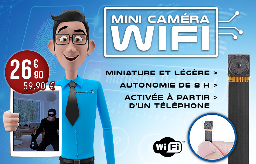 Mini camera wifi miniature et legere
